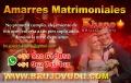 AMARRE MATRIMONIALES, CON AMULETO Y TEMPORAL