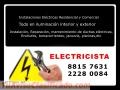 ELECTRICISTA en Costa Rica. Cel. 8815 7631
