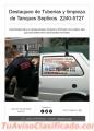 Limpieza de Tanques Sépticos y Destaqueo de Tuberías   8455-7500
