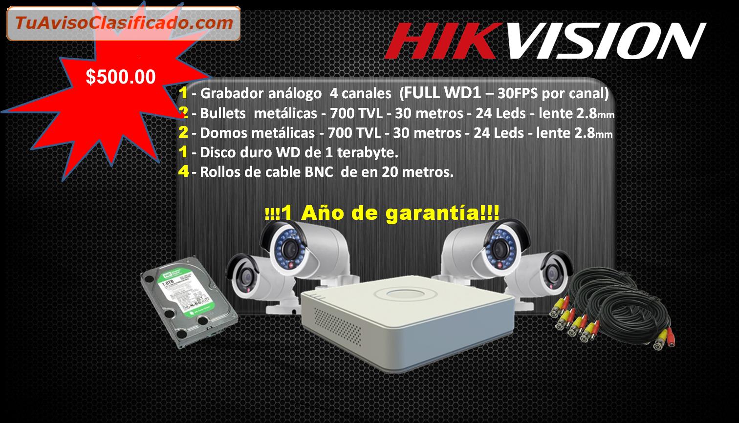 Venta e instalacion de camaras de vigilancia servicios y - Video camaras vigilancia ...